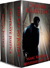 bargain ebooks Marc Kadella Series Vol 1-3 Mystery by Dennis Carstens