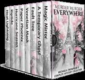 bargain ebooks Murder Murder Everywhere: Michaela Thompson's Complete Mystery Collection Mystery by Michaela Thompson