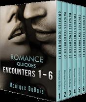bargain ebooks Romance Quickies: Encounters 1-6 Erotic Romance by Monique DuBois