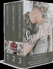 bargain ebooks San Diego Marines Volume 1: Three Sweet Military Romances Sweet Romance by Jess Mastorakos