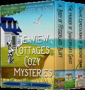 bargain ebooks Seaview Cottages Cozy Mystery Series Box Set: Books 1-3 Cozy Mystery by Anna Celeste Burke