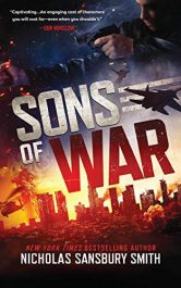 amazon bargain ebooks Sons of War Thriller by Nicholas Sansbury Smith