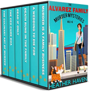 bargain ebooks The Alvarez Family Murder Mysteries: Vol 1-6 Mystery by Heather Haven