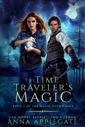 bargain ebooks The Time Traveler's Magic (Book 1 in the Magic Bound Saga) Paranormal Romance Fantasy by Anna Applegate