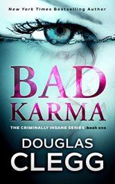 bargain ebooks Bad Karma Horror Thriller by Douglass Clegg