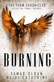 bargain ebooks Burning: Prequel After the Thaw Young Adult/Teen Dystopian SciFi by Heidi Catherine & Tamar Sloan