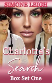 bargain ebooks Charlotte's Search Box Set One BDSM Erotic Romance by Simone Leigh