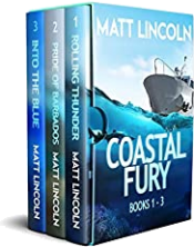 bargain ebooks Coastal Fury Boxset (1-3) Action/Adventure by Matt Lincoln