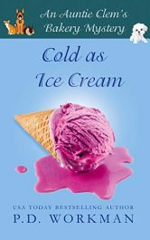 bargain ebooks Cold as Ice Cream Cozy Mystery by P.D. Workman