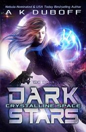 bargain ebooks Crystalline Space Young Adult/Teen Science Fiction by A.K. DuBoff