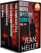 bargain ebooks Deuce Mora Mystery Series Vol. 1-4 Hard-Boiled Mystery by Jean Heller