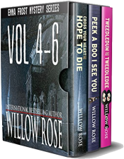 bargain ebooks Emma Frost Mystery Series Vol 4-6 Mystery by Willow Rose