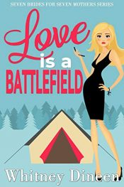 bargain ebooks Love is a Battlefield Romantic Comedy by Whitney Dineen
