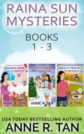 bargain ebooks Raina Sun Mystery Boxed Set Vol 1 (Books 1-3) Cozy Mystery by Anne R. Tan