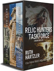 bargain ebooks Relic Hunters Taskforce Women's Action/Adventure by Ruth Hartzler