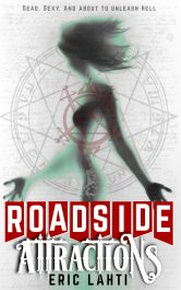 bargain ebooks Roadside Attractions Ghost Fiction Horror by Eric Lahti