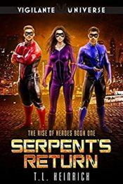 bargain ebooks Serpent's Return Cozy Mystery by T.L Heinrich