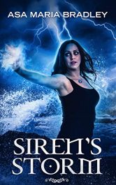 amazon bargain ebooks Siren's Storm Urban Fantasy Horror by Asa Maria Bradley