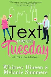 bargain ebooks Text Me on Tuesday Romantic Comedy by Whitney Dineen