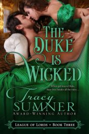 bargain ebooks The Duke is Wicked Victorian Historical Romance by Tracy Sumner