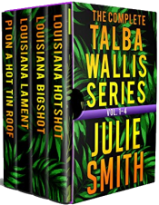 bargain ebooks The Complete Talba Wallis Series: Vol. 1-4 (The Talba Wallis Series) Mystery by Julie Smith