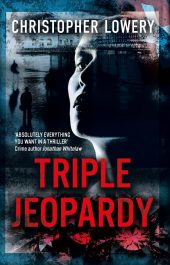 bargain ebooks Triple Jeopardy Mystery Thriller by Christopher Lowery