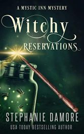 bargain ebooks Witchy Reservations Paranormal Cozy Mystery by Stephanie Damore