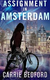 bargain ebooks Assignment in Amsterdam: A Kate Benedict Paranormal Mystery (The Kate Benedict Series Book 5) Mystery by Carrie Bedford