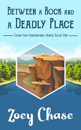 bargain ebooks Between a Rock and a Deadly Place Mystery by Zoey Chase