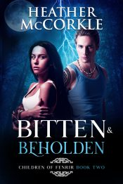 bargain ebooks Bitten & Beholden Fantasy Paranormal Romance by Heather McCorkle