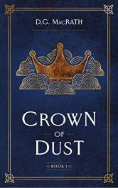amazon bargain ebooks Crown of Dust Fantasy Adventure by D.G. MacRath