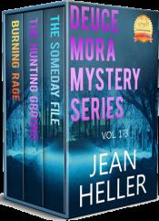 bargain ebooks Deuce Mora Mystery Series Vol. 1-3 Mystery by Jean Heller
