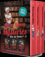 bargain ebooks Mitzy Moon Mysteries Books 1-3: Paranormal Cozy Mystery (Mitzy Moon Series Box Set 1) Paranormal Cozy Mystery by Trixie Silvertale