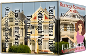 bargain ebooks Rebecca Schwartz Complete Set: Five Funny Cozy Mysteries (The Rebecca Schwartz Series) Mystery by Julie Smith