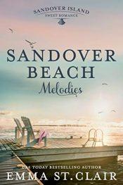 bargain ebooks Sandover Beach Melodies (Sandover Island Series Book 3) Sweet & Clean Romance by Emma St. Clair