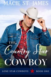 bargain ebooks The Country Star Cowboy Clean Contemporary Western Romance by Macie St. James