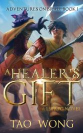 amazon bargain ebooks A Healer's Gift Young Adult/Teen Gamelit Fantasy by Tao Wong
