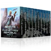 amazon bargain ebooks Agents of the Planetary Republic, Books 1-10 Space Opera Science Fiction by Jaxon Reed