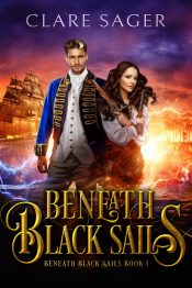amazon bargain ebooks Beneath Black Sails Romantic Fantasy Adventure by Clare Sager
