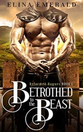 bargain ebooks Betrothed to the Beast Scottish Medieval Historical Romance by Elina Emerald