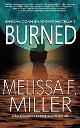 bargain ebooks Burned Women's Action/Adventure by Melissa F. Miller