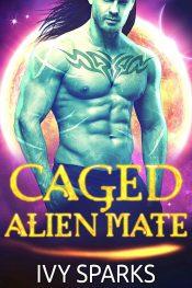bargain ebooks Caged Alien Mate: A Sci-Fi Alien Romance Sci-Fi Romance by Ivy Sparks