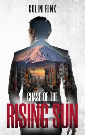 bargain ebooks Chase of the Rising Sun Action Adventure by Colin Rink