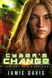 bargain ebooks Cyber's Change Young Adult/Teen SciFi by Jamie Davis