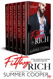 bargain ebooks FifthlyRich Contemporary Romance by Summer Cooper