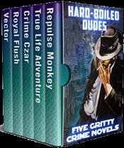 bargain ebooks Hard-Boiled Dudes Mystery Thriller Anthology by Dick Cluster, Julie Smith, Tony Dunbar, Shelley Singer, Rob Swigart
