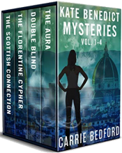 bargain ebooks Kate Benedict Cozy British Mysteries Vol 1-4 (The Kate Benedict Series) Kindle Edition Mystery by Carrie Bedford