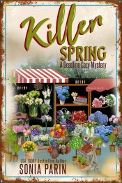bargain ebooks Killer Spring (A Deadline Cozy Mystery) Cozy Mystery by Sonia Parin
