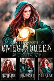 bargain ebooks Omega Queen - Box Set Books 1-3 Young Adult Fantasy Adventure by W. J. May