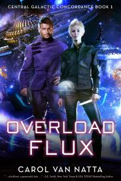 bargain ebooks Overload Flux Space Opera Science Fiction by Carol Van Natta
